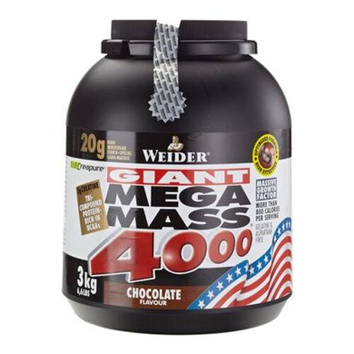 Weider Mega Mass 4000 3 kg - Weight Gainer + Mega Bonus