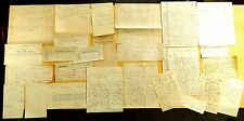 LOCKEPORT SHELBURNE NS Canada Lewis Benham Archive 26 Billheads Letters 1883-99