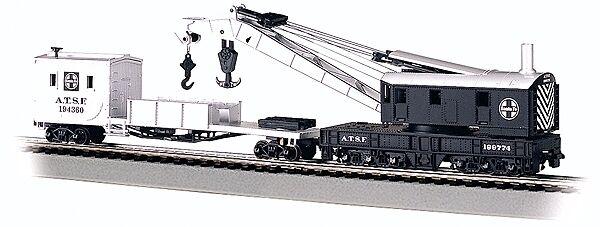 Traccia h0-gru 250 tonnellate con tender Santa Fe -- 16102 NUOVO