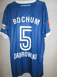 Dabrowski-VfL-Bochum-2008-2009-Match-Worn-Home-Football-Shirt-with-our-COA