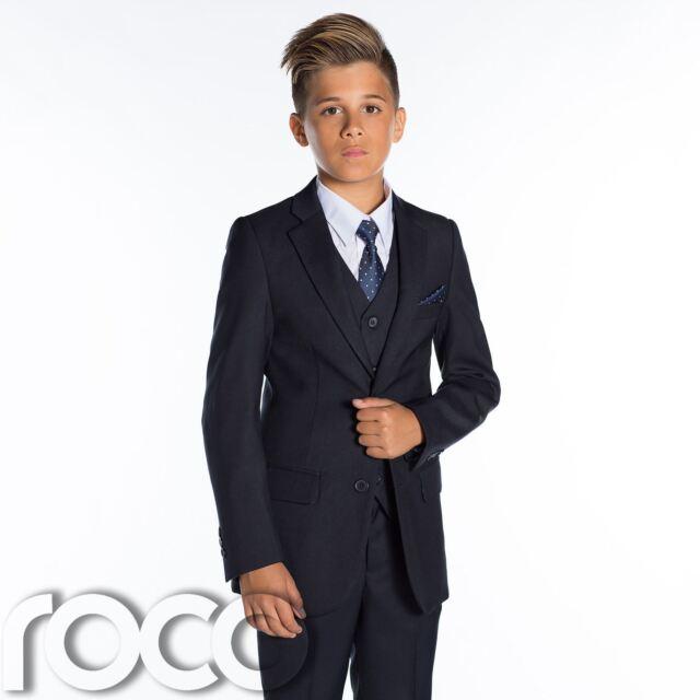 6e1473c98d8c Paisley of London Boys Navy Suit Slim Fit Prom Suits 12-18 Months ...