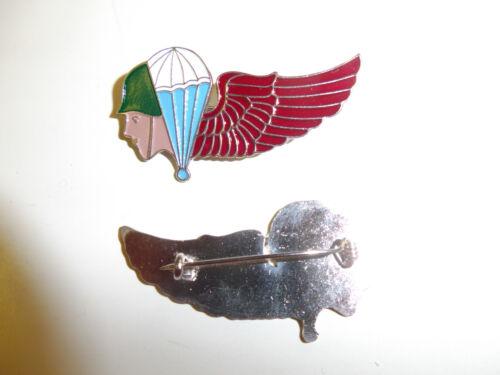 b3347 WW2 US Army Airborne OSS Kunming Parachute School badge wings R3E