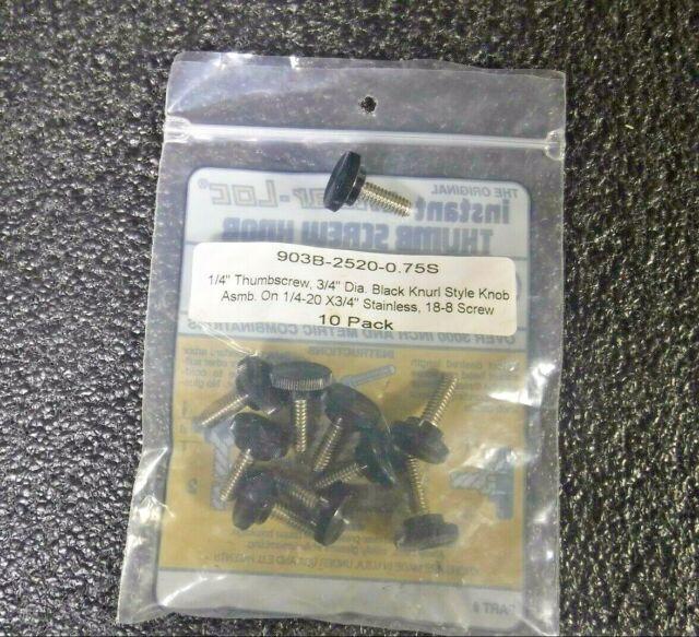 """TTC Shear-Loc Tee Knob-Fits 3//8/"""" Cap Screws Pack//100"""