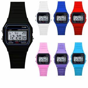 Unisex-F91W-Black-Casual-Watch-Vintage-Retro-Digital-F91-W-Warranty-Tiny-Gift-AU