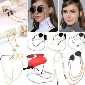 New-Eyeglass-Glasses-Strap-Sunglasses-Chain-Beaded-Cord-Holder-Neck-Lanyard-Lot