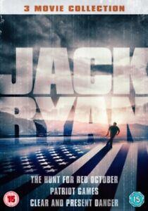 Jack-Ryan-Collection-The-Hunt-per-Rosso-Ottobre-Patriota-Giochi-Clear-e-Pres