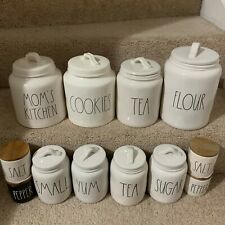 NEW RAE Dunn canister COFFEE TEA SUGAR FLOUR COOKIES KITCHEN SALE/PEPPER
