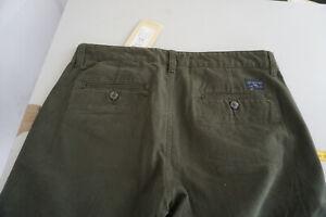 SELECTED-Homme-Heritage-Herren-Jeans-chino-Hose-32-32-W32-L32-dunkelgruen-NEU-1