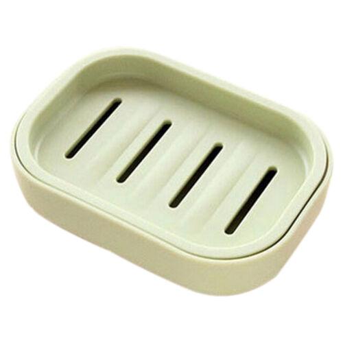 Water Draining Soap Dish Case Holder Drainer Soap Saver Stand Storage Box  INIU