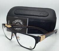 Chrome Hearts Eyeglasses Gag'n Mbk/gp-wewe-pv 54-16 Black & Gold W/piano Varnish