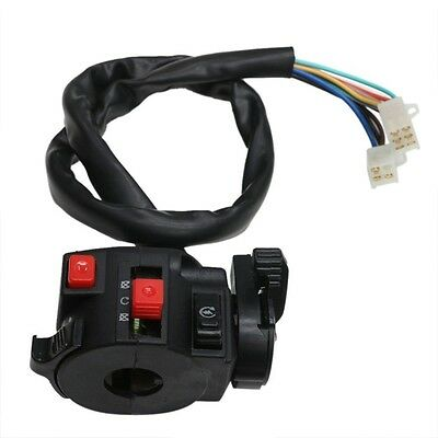 2 x 7//8/'/' Motorcycle Handlebar Horn Turn Signal Indicator Light Control Switch