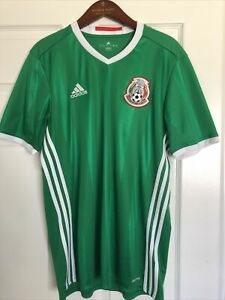 Details about Adidas Mexico National Football Team Seleccion Mexicana Jersey