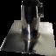 FALDALE-DRITTO-PER-TETTO-PIANO-130-MM-IN-ACCIAIO-INOX-AISI-304-CANNE-FUMARIE miniatura 6