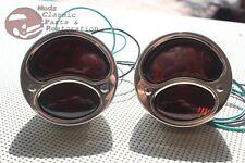 Ford Model A Hot Rat Street Rod Custom Car Pickup Truck Stop Lens Tail Lights