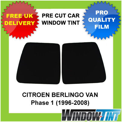 1996-2008 CITROEN BERLINGO VAN Pre-Cut Window Tint - Rear Windows 20/% DARK