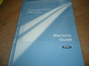 ford 2005 f150 owners manual