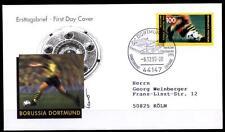 Deutscher Fußballmeister 1995,Borussia Dortmund. FDC(3)-Brief.Dortmund. BRD 1995