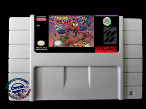 The-Amazing-Spider-Man-Lethal-Foes-SNES-Video-Game-USA-version-FREE-SHIPPING