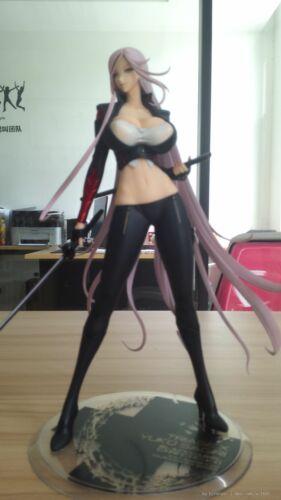 Darkness 1//7 PVC Figure New Loose Orchid Seed Triage X Yuko Sagiri Black Ver