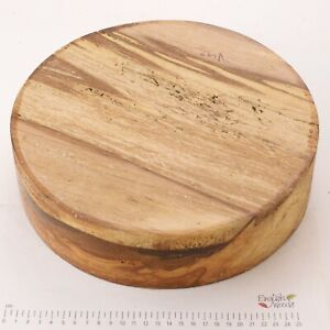 English-Spalted-Beech-woodturning-or-wood-carving-bowl-blank-280-x-73mm-6309A