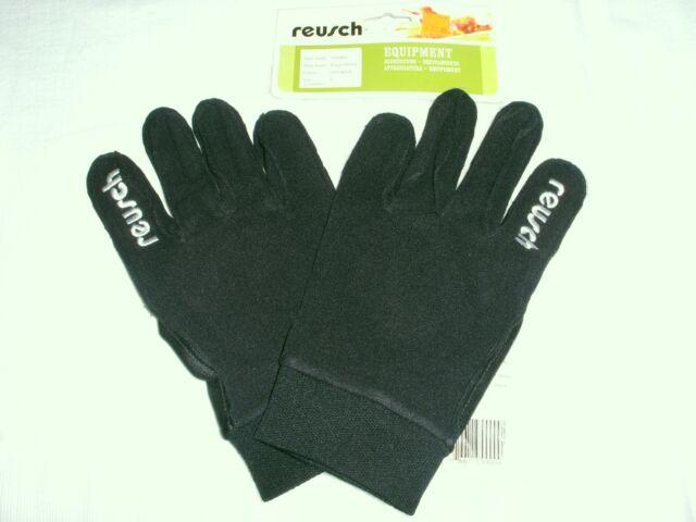 b25b4573a Field Soccer Player Winter Gloves Reusch Black/White Adult US Sizes 8 ,9  Medium