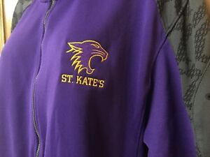 Catherine Purple V7 Fashion Style Nike Dri-fit Speed Knit Jacket St Kate's Size L/xl St