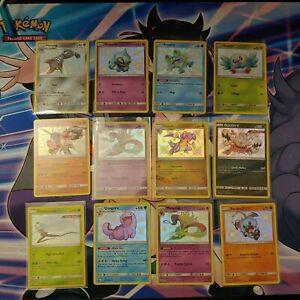 Hidden-Fates-Pokemon-Card-Lot-SV-12-cards-NM-Pack-Fresh-Rare-Cards