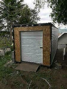 BEST EVER Rollup White 5x7 Steel Door $495 - Sheds, Buildings, Outbuildings, Toy Sheds, Garages and Sea Cans. BRAND NEW! British Columbia Preview