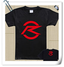 KAMEN MASKED RIDER DRIVE cotton T-shirt BLACK RED WHITE LOGO