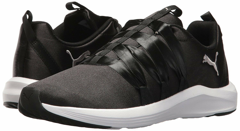 Womens shoes PUMA Prowl ATL Satin Lace Design Sneaker 19054403 Black White New