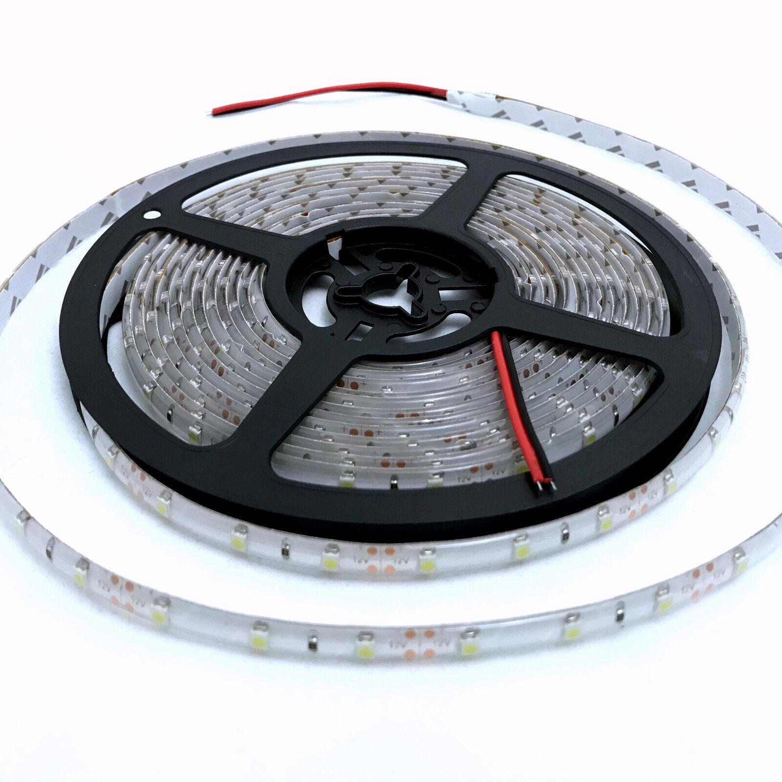 Waterproof 12V Cool White 5M 3528 SMD 300 LED Strips Led Strip