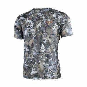 Sitka-Men-039-s-Lightweight-Crew-Short-Sleeved-Shirt-10065-All-Colors