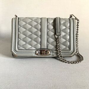 Rebecca-Minkoff-Love-Quilted-Gray-Leather-Crossbody-Bag