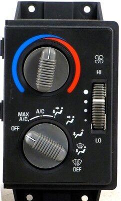 95-97 CHEVY GMC CLIMATE CONTROL UNIT S-10 BLAZER JIMMY HVAC A//C HEATER 96 TEMP