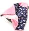 Indexbild 20 - Babydecke MINKY mit Kapuze 90x90 cm Einschlagdecke Babyschale Kinderwagen Decke