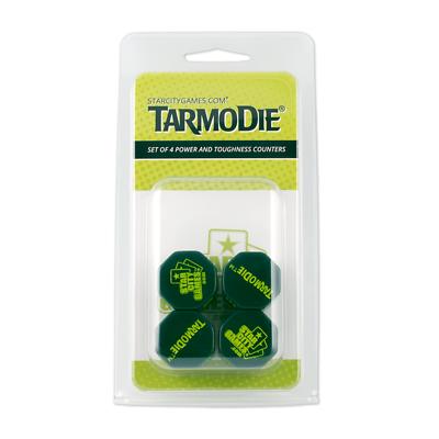 Set of Four Tarmogoyf P//T Dice Counters Star City Games Tarmodie MTG