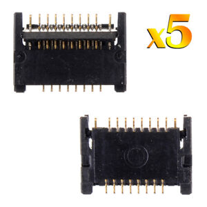 5 x For Apple iPad Air 2 Home Button Key FPC Connector Logic Board 6th Gen