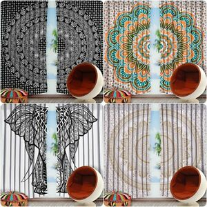 Ready Made Indian Mandala Curtains Bohemian Ethnic Home
