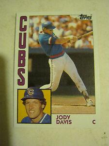 Details About 1984 Topps 73 Jody Davis Baseball Card Gs23 20