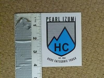 Pearl Izumi Hors Categorie Tough Sticker Decal