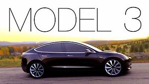 Image Is Loading 2016 Tesla Model 3 24x36 Inch Poster Electric