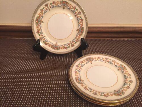 "Aynsley /""HENLEY/""  Bone China England ~ Set of 4 ~ Bread Plates ~ 6 1//4/"""