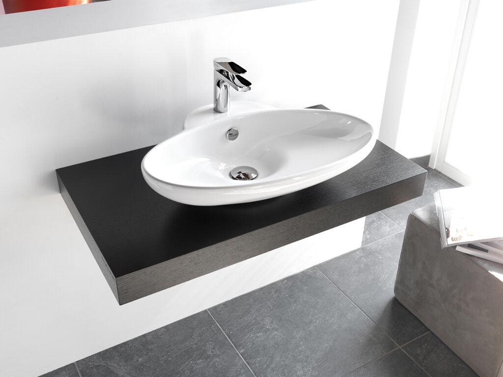 Lavandino Lavabo Design Appoggio Fuori 3 63x47x13