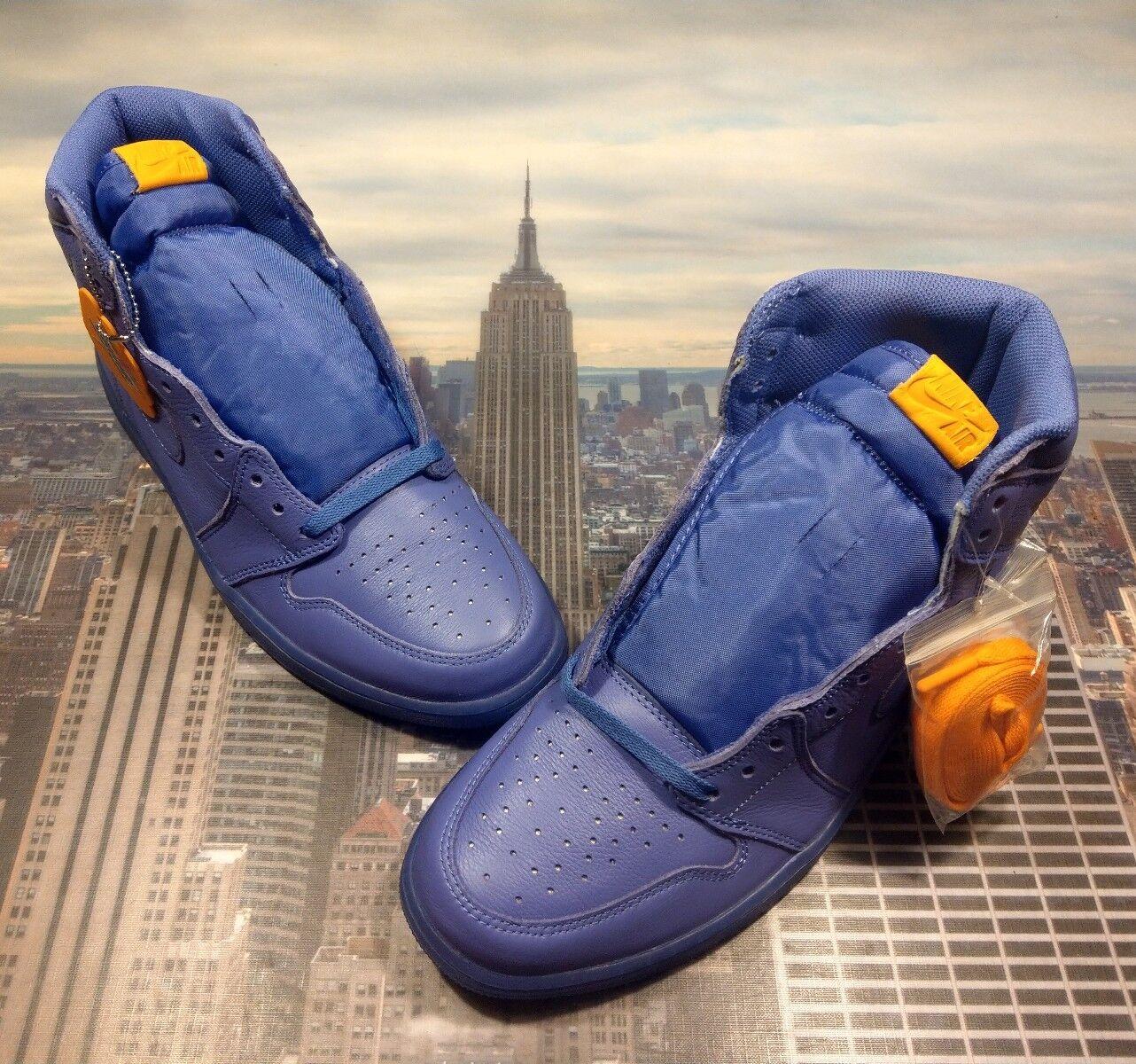 Nike air jordan 1 'alto og g8rd gatorade uva uomini aj5997 555 nuove dimensioni