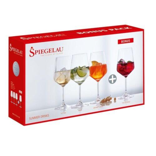 Spiegelau Summer Drinks Set//4