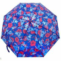 Disney Lilo And Stitch All Over Print Retractable 21 Umbrella