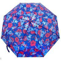 Disney Lilo And Stitch All Over Print Retractable 21 Umbrella