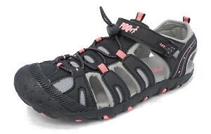 13 1 Size Pink 3 Sandals 11 12 Trail Girls Toe Hiking Sports 2 Black Pdq Closed Aw4aqf7