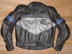 034-SCHWABENLEDER-034-Motorrad-Kombi-Lederjacke-Biker-Jacke-schwarz-ca-48-50