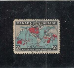 CANADA-MK4430-86b-VF-USED-2cts-IMP-PENNY-POSTAGE-DP-BLUE-NB-CANCEL-CAT-14